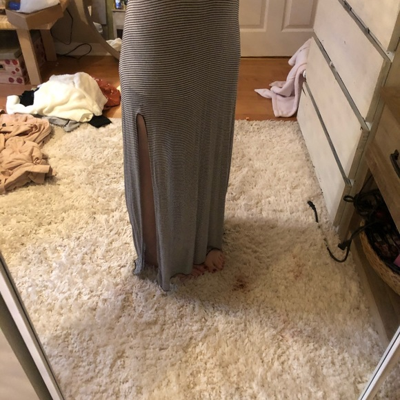 Brandy Melville maxi skirt striped.